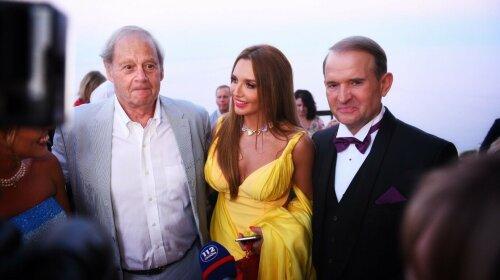 Оливер Стоун, Оксана Марченко и Виктор Медведчук