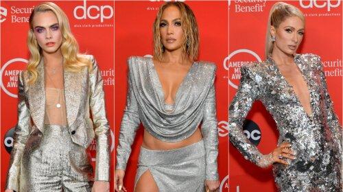 Блиск і сяйво: Дженніфер Лопес, Дуа Липа, Меган Фокс та інші знаменитості на червоній доріжці American Music Awards 2020 (фото)