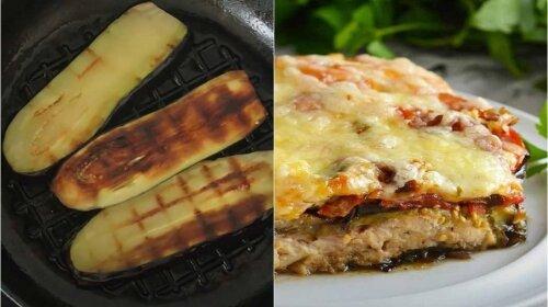 Главное блюдо осени — многослойная запеканка из баклажанов с мясом