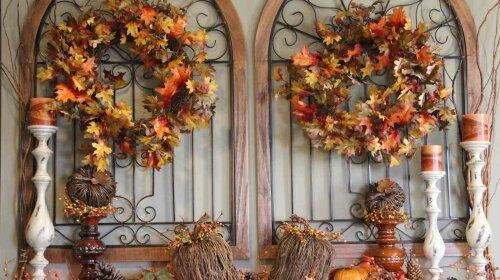 Пришла осень: как украсить дом в золотистую пору
