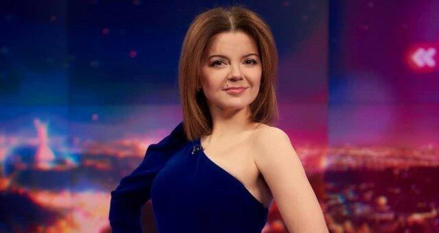 телеведущая, Маричка Падалко, наряд для эфира, образ звезды