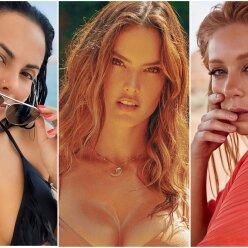 Кароль, Каменських і зірки Victoria's Secret показали розкішні форми в мокрих бікіні: найвідвертіші фото знаменитостей