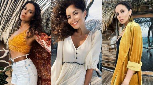 Исхудавшая Каменских поразила новыми нарядами: жаркие мексиканские образы жены Потапа