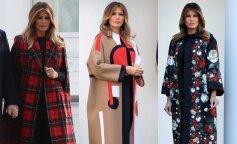 Битва образов: Мелания Трамп и ее самые оригинальные демисезонные пальто