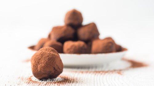 шоколадные конфеты, трюфельные конфеты, рецепт, юлия панкова