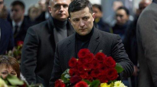 """В """"Борисполе"""" попрощались с погибшими в авиакатастрофе в Иране: там присутствовал президент Украины"""