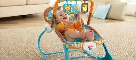 Кресло-качалка для малышей — помощник для мам