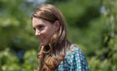 The Duchess of Cambridge Visits Hampton Court Flower Festival