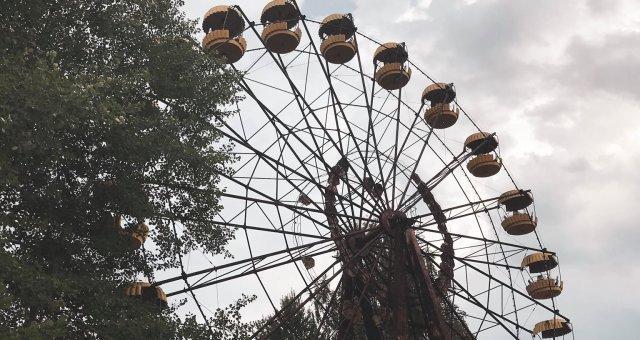 Знаменитое колесо обозрения, на котором так никто и не покатался