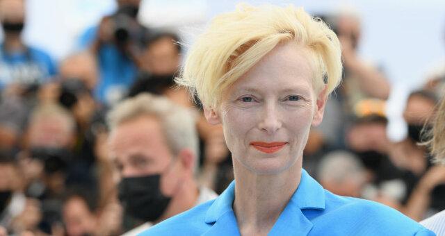 каннский кинофестиваль 2021, фото, видео, красная дорожка, тильда суинтон, дочка