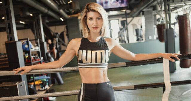 Анита Луценко, тренер, сбросила 20 кг после родов