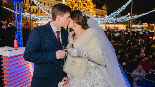 Весілля у прямому ефірі: як одружився наймолодший звільнений моряк Андрій Эйдер