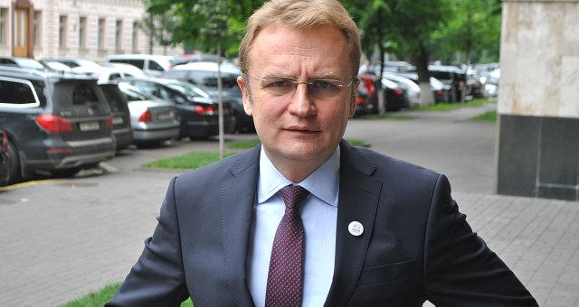 Андрей Садовой, мэр Львова, кандидат в президенты Украины, семья