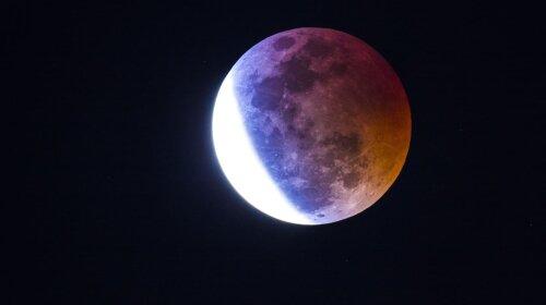 Місячне затемнення 10 січня 2020