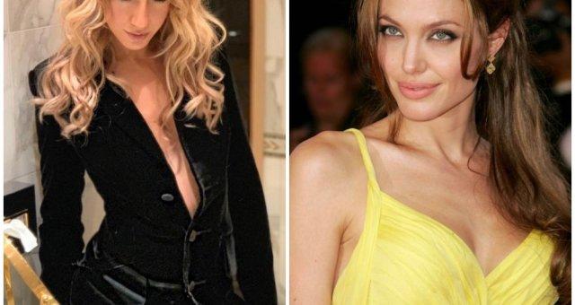 Леся Никитюк, Анджелина Джоли, фото