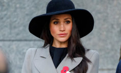 Meghan Markle, the fiancee of Britain's Prince Harry, attends the Dawn Service at Wellington A