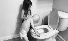 Дівчинка допомагає своєму братові перемогти рак: зворушливі фото