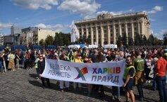 Как прошел первый Марш равенства в Харькове: атаки националистов, летящие яйца и действия полиции