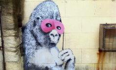 Картина вуличного художника Бенксі