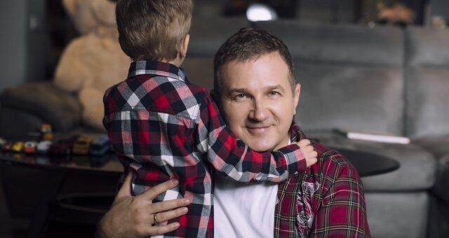 Юрий Горбунов, ведущий, развлечения с сыном, обсуждение в Сети