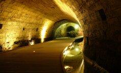 обнаружены скрытые туннели тамплиеров