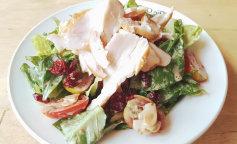 Рецепти салату з копченою куркою