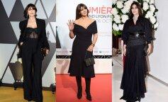 Моника Беллуччи показала, как носить черный цвет: лучшие примеры, которые можно взять на заметку