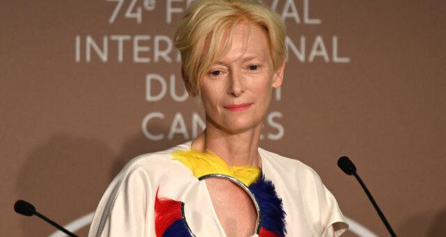 каннский кинофестиваль 2021, фото, видео, красная дорожка, тильда суинтон, память