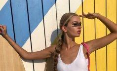 Купальники 2019: найкращі пляжні образи з гардеробу Яни Брилицкой
