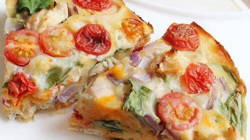 Заливний курячий пиріг з продуктів, які є в будь-якому холодильнику
