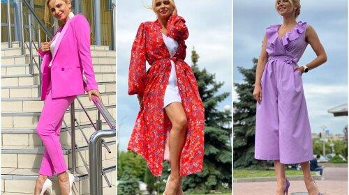Романтичні сукні та яскраві костюми: Топ-10 стильних образів Лілії Ребрик (ФОТО)