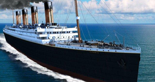 В Китае строят новый «Титаник»