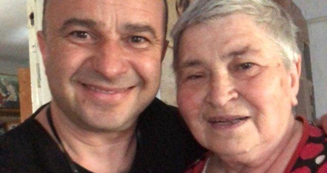Виктор Павлик с мамой