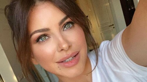 Беременная Ани Лорак показала фотографию в белой прозрачной рубашке – похоже Егор Глеб скоро станет многодетным отцом  (фото)