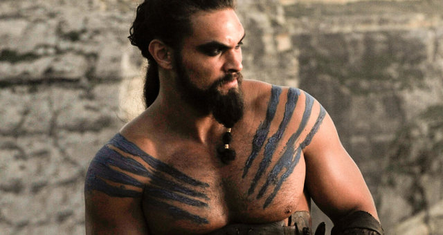 GAME OF THRONESJason Momoa, Emilia Clarke