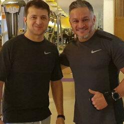 Утро с президентом: Эктор Хименес-Браво встретил на тренировке Владимира Зеленского