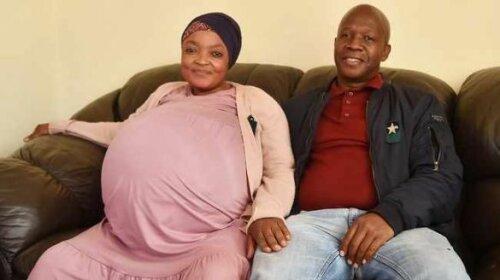 В Африке женщина родила сразу 10 детей и попала в Книгу рекордов Гиннесса (ФОТО)