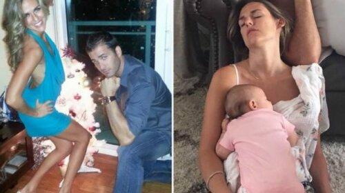 До и после: 13 фотографий о том, как родительство меняет людей