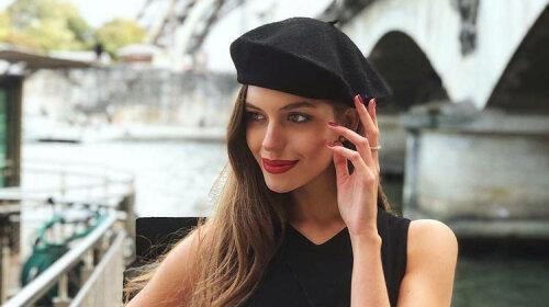 Олександра Кучеренко, нове фото, стильне вбрання, в компанії молодого чоловіка