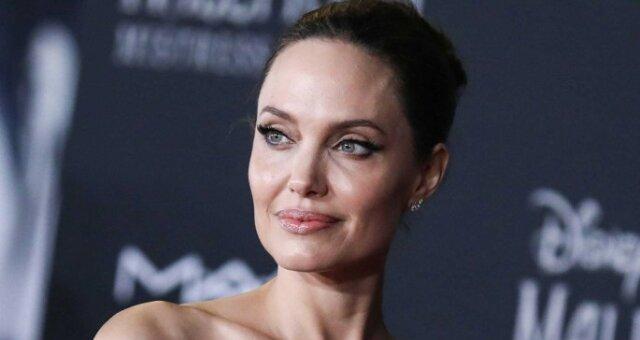 Анджелина Джоли, американская актриса, фото особняка, Vogue