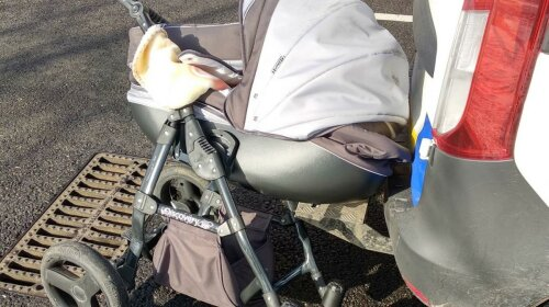 У Запорізькій області водій на повній швидкості протаранив коляску з немовлям: ВІДЕО
