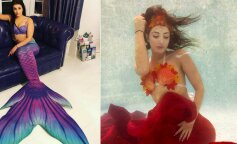Жінка кинула роботу, щоб стати русалкою (ФОТО)