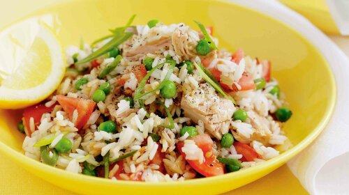 Salad of tuna and rice1