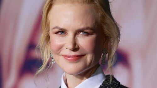 В блестящем жакете и галстуке: очаровательная Николь Кидман засветилась на премьере в Лос-Анжелесе