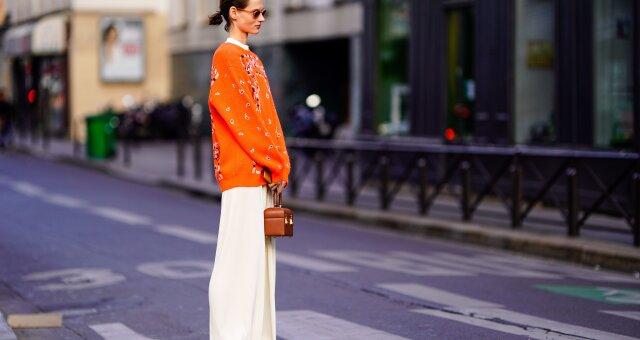 Оранжевый гардероб