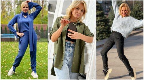 Просто, але зі смаком: 39-річна Лілія Ребрик показала, як одягається в повсякденному житті (фото)