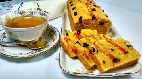 Рождественская выпечка: вкуснейший кекс с апельсинами и клюквой