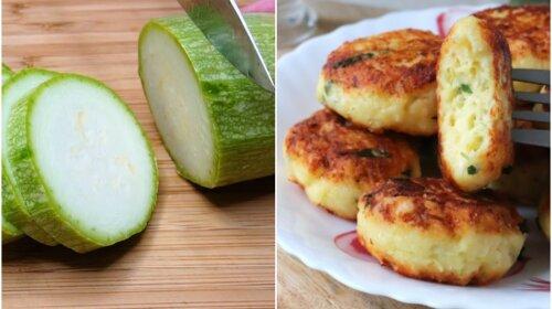 Быстрый завтрак: сырники из кабачков с зеленью