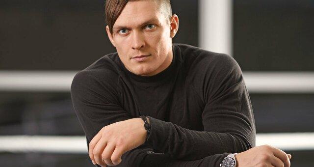 Александр Усик, боксер, особняк под Киевом