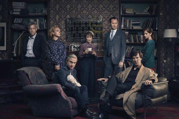 Сериалы с неожиданной концовкой: Шерлок